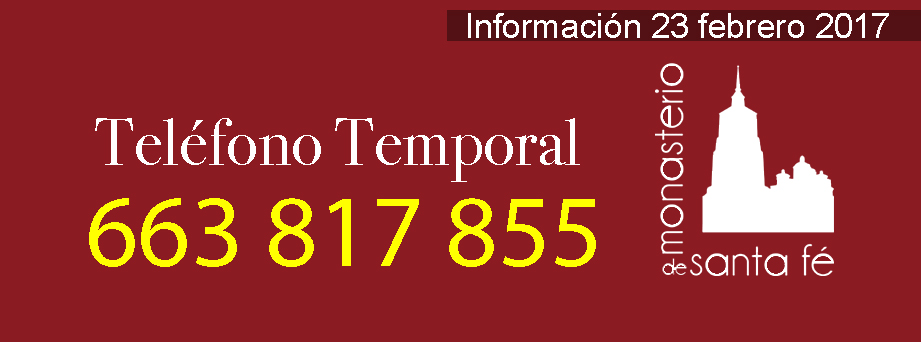 Teléfono temporal