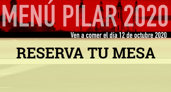 Menu del Pilar 2020
